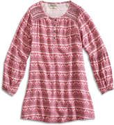 Lucky Brand Ginger Peasant Dress