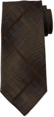Tom Ford Men's Large Squares Silk Tie