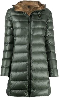 Blauer Zipped Padded Coat