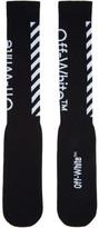 Off-White Black Diagonal Socks