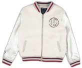 True Religion Varsity Faux Shearling Jacket (Toddler Girls & Little Girls)