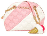 Betsey Johnson Split Decision Dome Satchel