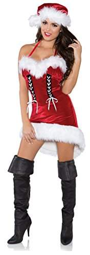 293e5732053 Underwraps Costumes Women's Sexy Christmas Costume - Miss Santa