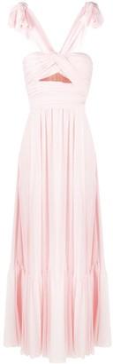 Giambattista Valli Cut-Out Sleeveless Evening Gown