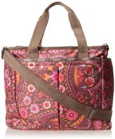Le Sport Sac Ryan Baby Diaper Bag,Flower Child,One Size by