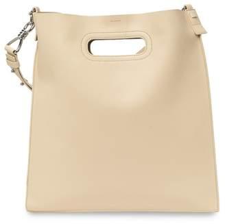 AllSaints Captain Flat Leather Hobo Bag