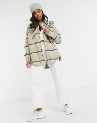 Cotton On Cotton:On shacket in check