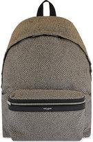 Saint Laurent City Glitter Backpack