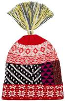 Burberry Cashmere Blend Knitted Tassel Hat