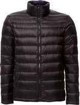 Calvin Klein Men's Opack 2 logo aop packable down jacket