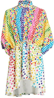 All Things Mochi Malaya Multicolor Polka Dot Dress