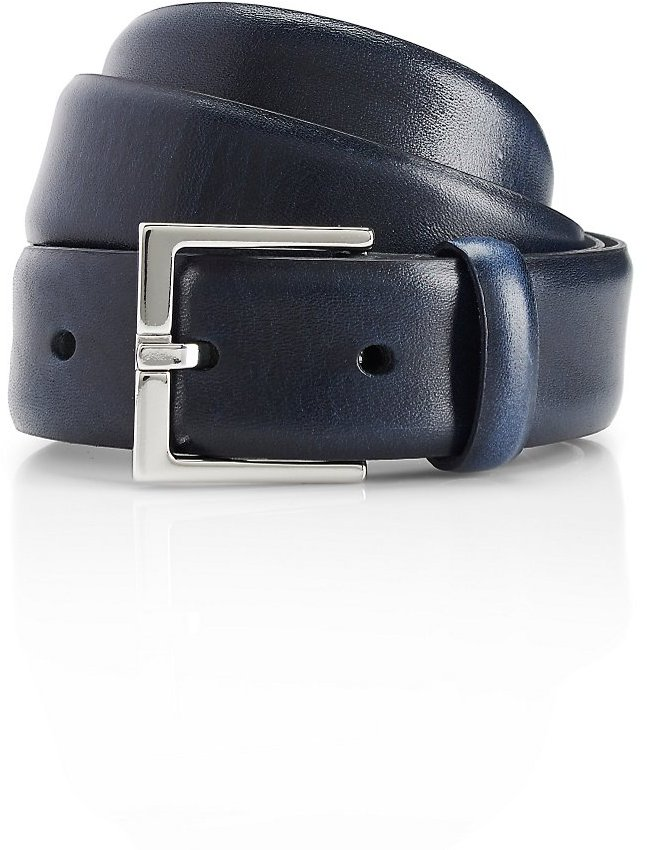 HUGO BOSS 'Elmiro'   Leather Belt by BOSS