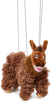 Brown Donkey Puppet