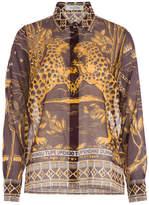 Valentino Printed Cotton Blouse