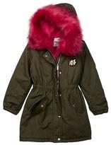 DKNY Colored Faux Fur Parka (Big Girls)