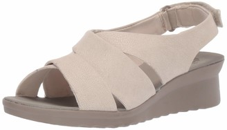 Clarks Women's Caddell Bright Wedge Sandal