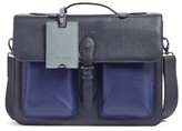Ted Baker Men's Quint Leather Satchel - Blue