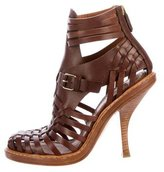 Givenchy Caged Leather Booties