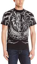 Liquid Blue Men's Plus-Size Dragon Catcher T-Shirt