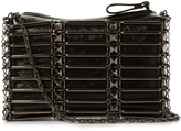 Valentino Rockstud caged leather cross-body bag