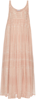 Raey Smocked silk-georgette cami dress
