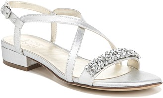 Naturalizer Low Heel Slingbacks w/ Rhinestone Detail - Macy