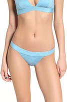Rip Curl Junior Women's 'Beach Chicks' Stripe Reversible Bikini Bottoms