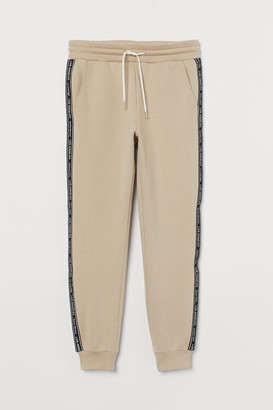 H&M Sweatpants with side stripes