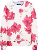Gant Girls Flower Printed Sweatshirt 3-12 Yrs