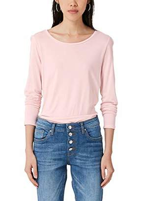 S'Oliver Q/S designed by Women's 2005709 Long Sleeve Top,12 (Size: )