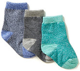 Starting Out Baby Boys 3-Pack Assorted Crew Socks