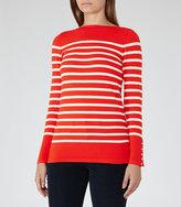 Reiss Oxford Nautical Striped Jumper