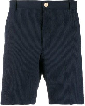 Thom Browne RWB Seersucker 18cm Shorts