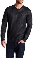 Drifter Radium Crackled Sweatshirt