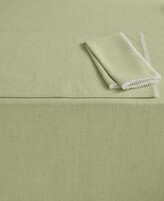 "Lenox French Perle 60"" x 120"" Pistachio Tablecloth"