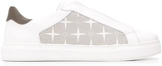 MCM Low Top Star Print Sneakers