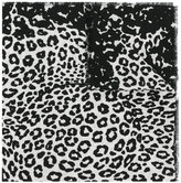 Marc Jacobs leopard print shawl - women - Viscose/Wool - One Size