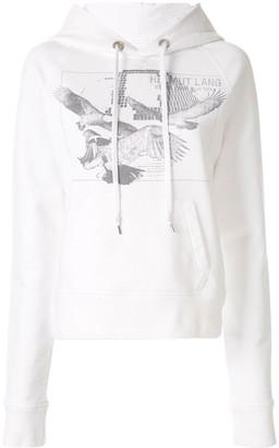 Helmut Lang Eagle S1 jersey hoodie