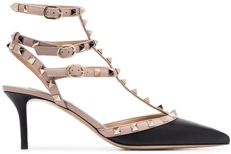 Valentino Rockstud 65mm strappy leather pumps