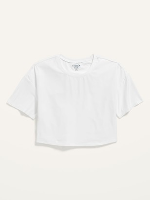 Old Navy Ultra-Soft Breathe ON Cropped Tee for Girls