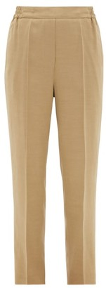Etro Tapered-leg Ottoman Trousers - Beige