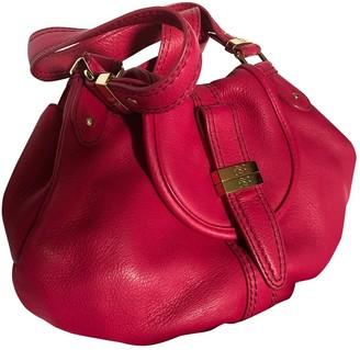 Lancel Pink Leather Handbags