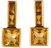 H.Stern 18K Citrine Drop Earrings