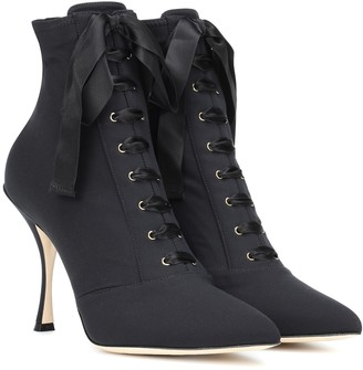 Dolce & Gabbana Lori lace-up ankle boots