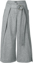 Eudon Choi belted wide-leg trousers