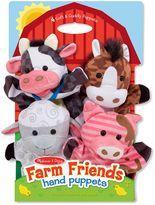 Melissa & Doug Farm Friends Hand Puppets (Set of 4)