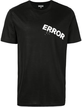 Lanvin embroidered Error T-shirt