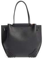 Tod's Small Wave Leather Tote - Black