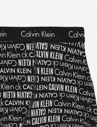 Calvin Klein Modern cotton trunk boxers pack of two 8-16 years