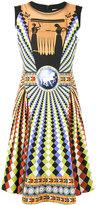 Mary Katrantzou Eirene skater dress - women - Silk/Spandex/Elastane/Viscose - 8